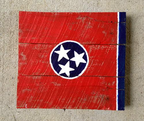 Levi-Watson-Nashville-Flag-Painting
