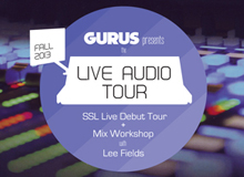 gurus live audio tour